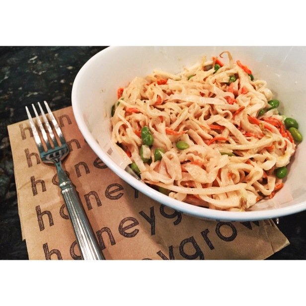 New Rice Noodles at Honeygrow