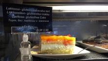 Apricot Cake on the Viking Cruise