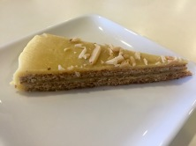 Almond Torte on the Viking Cruise