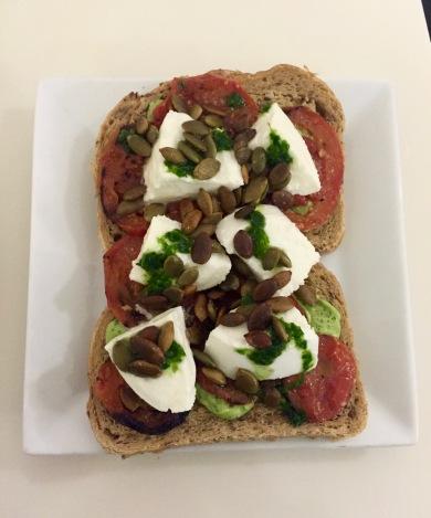 Mozzarella Tomato Sandwich at Karl Fazer