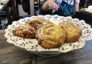 Vanilla and Cinnamon Pastries at Mari's Smoothie and Cafe