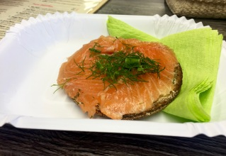 Smoked Salmon Sandwich at Mari's Smoothie and Cafe
